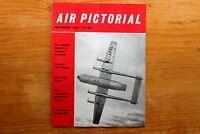 Vtg Original Air Pictorial Magazine 1960 November B.O.A.C. 707 Flight