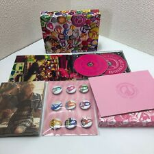 SNSD Girls' Generation LOVE & PEACE CD+Blu-ray+GOODS JAPAN