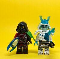 ACRONIX KRUX   + BLIZZARD EMPEROR SAMURAIS NINJA  NINJAGO GARMADON Lego Movie