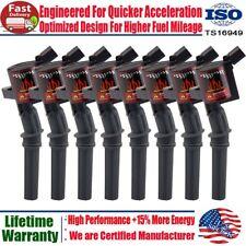 8 Ignition Coils On Plug Pack For Ford F150 XL F250 F550 4.6/5.4L V8 DG508 FD503