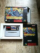 "SUPER GHOULS ""N GHOSTS - Super Nintendo Snes - PAL FRG FR Boite notice"