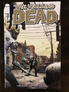 WALKING DEAD #1 CYNTHIANA KENTUCKY EDITION VARIANT IMAGE COMICS NM