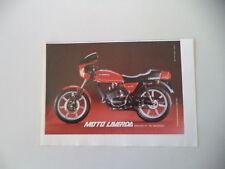advertising Pubblicità 1982 MOTO LAVERDA LZ 125