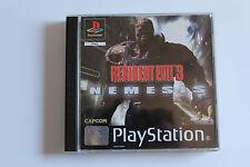 PS1 Playstation 1 Spiel Resident Evil 3: Nemesis