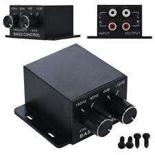 Auto Verstärker Bass Band Controller Lautstärkeregler Equalizer RCA Gewinn Ebene