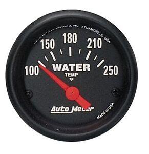 "Auto Meter Z-Series Water Temperature Temp Gauge 2-1/16"" (52mm) 100-250 Deg F"