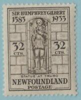 NEWFOUNDLAND 225 MINT HINGED OG * NO FAULTS EXCELLENT !