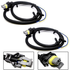 2 ABS Wheel Speed Sensor Wire Harness Plug For Chevrolet Buick Cadillac 10340314