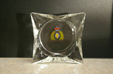 RARE 1973 CENTENIAL '1873-1973' RCMP ROYAL CANADIAN MOUNTED POLICE GLASS ASHTRAY