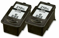2 Pk For Canon PG-210XL Black Ink Cartridge For PIXMA MP240 MP250 MP280  PCS