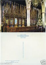 THE PRIORY AND PARISH CHURCH OF ST.MARY LANCASTER POSTCARD BY J.ARTHUR DIXON