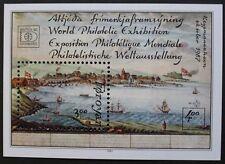 """Hafnia 87"" international stamp exhibition, (2nd issue) stamp sheet SG ref:MS154"