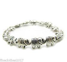 Beautiful New in tibet style tibetan silver Asian elephant bracelet jewelry