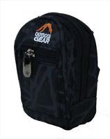 Large Outdoor Digital Camera Case Zip Pocket Travel Waist Belt Loop Bag Black