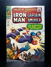 COMICS: Tales of Suspense #76 (1966) 1st Batroc cover -(captain america/ironman)