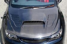 Carbon Bonnet For 08-14 Subaru Impreza GRB GVB WRX STI CS-Style Hood