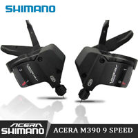 Shimano Acera M390 black Trigger Shifter Set SL-M390 3X9 speed  w/inner Cable