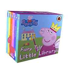 Book Peppa Pig Fairy Tale Little Library Child Game Hobby Character Cartoon
