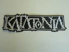 KATATONIA LOGO EMBROIDERED BACK PATCH