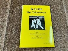 New listing Karate - 'Bo' Take-aways - Guy Trimble Iii
