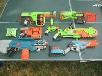 Nerf Zombie Gun Lot, All Are Great Working, For Ages 8 And Up
