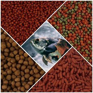 Oscar Cichlid Fish Food - Floating Pellets Sticks South American Tiger Ocellatus
