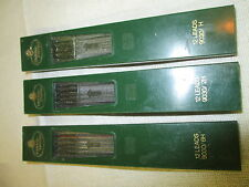 Vintage Faber Castell 3 containers refill Lead 9030/2H 9030/H 9030/6H