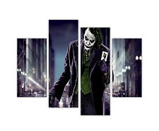 "EXTRA LARGE CANVAS PRINTS JOKER AND CARD BATMAN WALL ART 35""(90cm) XXL PICTURES"