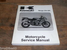 MANUEL REVUE TECHNIQUE D ATELIER KAWASAKI ZX-6R NINJA 2002- Service Manual ZX6R