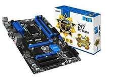 MSI Z97 PC Mate LGA1150 Intel Z97 Chipset DDR3 CrossFire SATA3 USB3.0 AGbE ATX