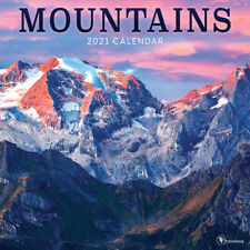 2021 Mountains Wall Calendar