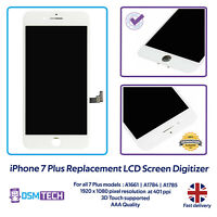 iPhone 7 Plus 5.5'' Screen LCD Digitizer Display Replacement White A1661 A1784