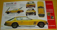 68 69 1970 Jensen FF Mk III 3 Chrysler 383 V8 330 hp IMP Info/Specs/photo 15x9