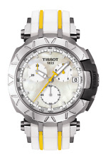 *BRAND NEW* Tissot Women's Rubber Strap Steel Case Watch T092.417.17.111.00