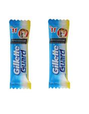100 piece Gillette Guard Razor blade cartridge gilette safety blade smooth Shave