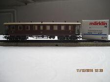 Märklin 4211 Personenwagen 3. klasse H0