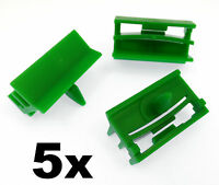 5x BMW E60 E61 5 Series- Plastic Trim Clip Fastener for Side Skirt Sill Moulding