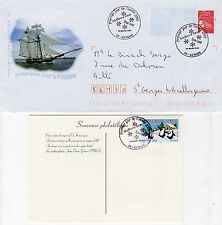 France Enveloppe et carte postale oblitérées 1er Janvier 2006 (jour Férié)