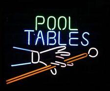 "New Pool Tables Billiards Bar Beer Lamp Neon Light Sign 20""x16"""