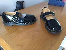Vintage Dr Martens black patent Mary Jane  shoes UK 5 EU 38 boho kawaii England