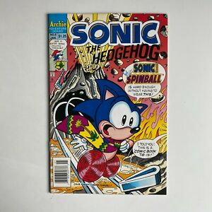 Archie Comics Sonic the Hedgehog  #6 Newsstand 1994 Bagged & Boarded Gemini Ship