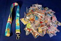 Disney World 25 Pin Trading Lot Lanyard Starter Monsters Inc University Sully