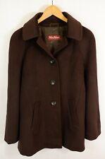 Max Mara Studio Wool Coat UK12