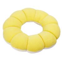 Round Cushion Seat Cushion Pillow Sitting Donut Chair Pad-Yellow