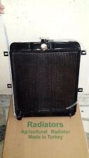 NEW COMPLETE 3 ROWS COPPER RADIATOR FOR 1948-63 JEEP WILLYS WITH 4 CYL F134 ENG.