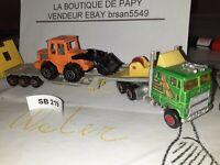 SB 219 MAJORETTE FRANCE MACK PORTE CHAR SERIE 600 1/87 CHARGEUR FRANCE 1/100