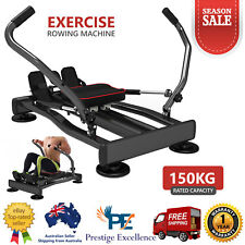 Exercise Rowing Machine Rower Abdominal Fitness Home Gym Workout Cardio FitPlus