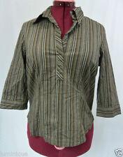 Target 3/4 Sleeve Career Striped Tops & Blouses for Women