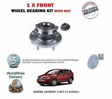 FOR DODGE JOURNEY 2.0DT 2.4 6/2008-> NEW 1 X FRONT WHEEL BEARING KIT WITH NUT