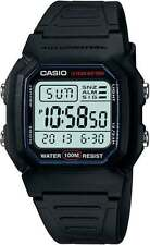 CASIO WATCH SWIMMING 100 METRES WATER RESISTANT VINTAGE RETRO W-800H-1AV
